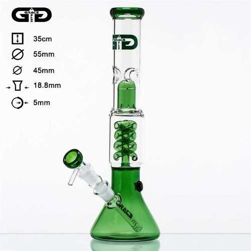 GRACE GLASS BONG G340 VERDE